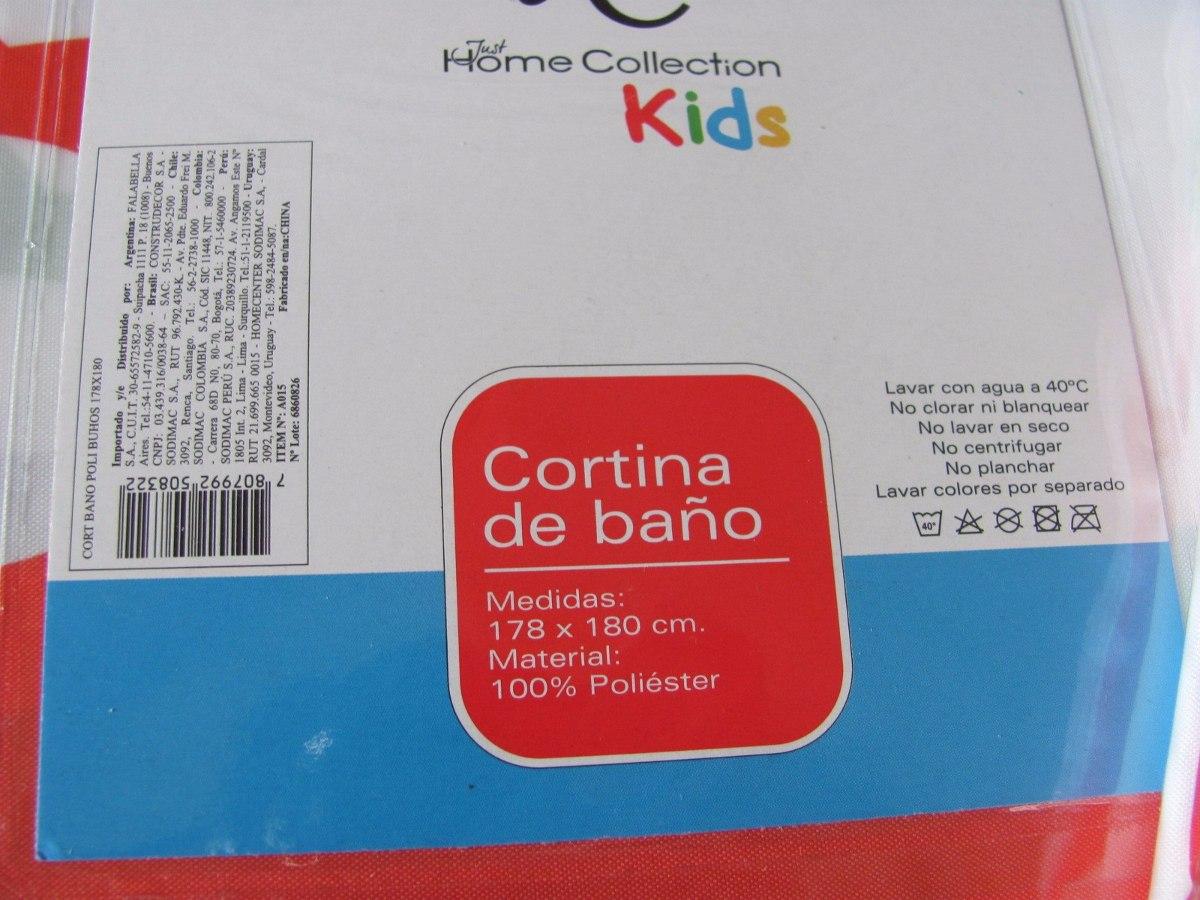 Cortina Baño Infantil:Cortina De Baño Infantil – $ 5000 en MercadoLibre