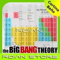 Cortina De Ba O Tabla Peri Dica The Big Bang Theory
