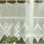 Cortina O Cenefa A Crochet A Pedido
