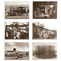 Fotos Santiago Antiguo Gráfica Digital 27x40 Cm. P/enmarcar.