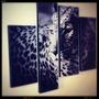 Cuadriptico De Leopardo O Con Imagen Personalizada 22 Mil