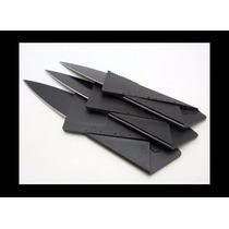 Navaja Cuchillo Targeta Billetera Negra