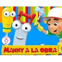 Kit Imprimible Manny A La Obra Diseñá Tarjetas Cotillon