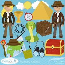 Kit Imprimible Aventuras Imagenes Clipart