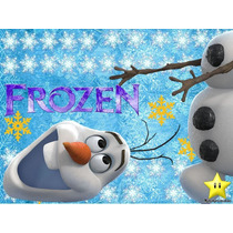 Kit Imprimible Frozen Invitaciones Candy Bar Cumples Olaf