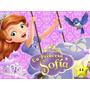 Princesa Sofia Invitación Cotillón De Cumpleaños Imprimible