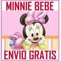 Minnie Bebe Invitación Cotillón De Cumpleaños Imprimible