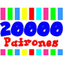 Kit Imprimible 20000 Tarjetas Cajas Marcos Fondos Cumpleanos