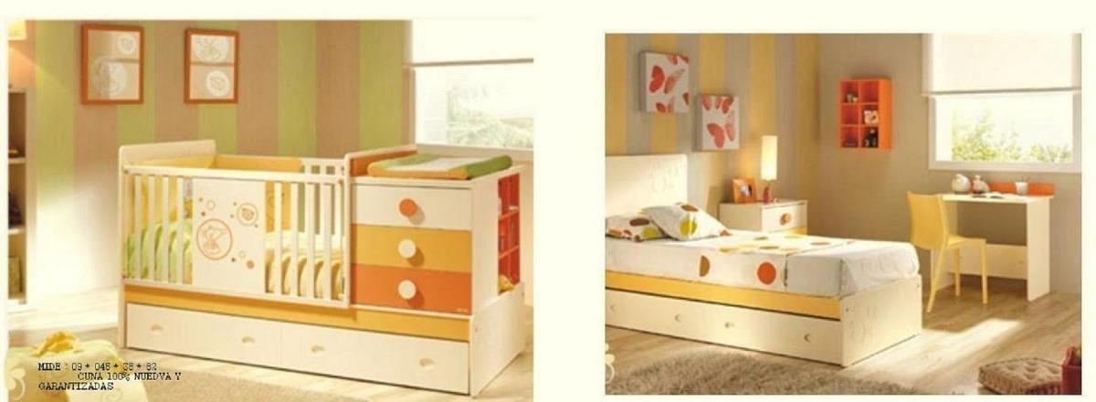 Cunas convertible cama escritorio velador repisa cama nido for Escritorio para cama nido