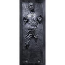 Han Solo En Carbonita - Star Wars - Poster Adhesivo Gigante