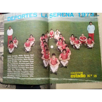 Estadio N° 1557 16 De Oct De 1973 Poster Deportes La Serena