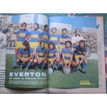 Estadio N° 1649, 18 Mar 1975. Everton 1975 Primera Division