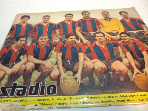 Deportes Iberia. Revista Estadio 1953 1957 (2)