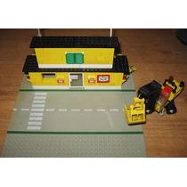 Lego Colecciones - Casa Del Correo + Excavadora Año 1982