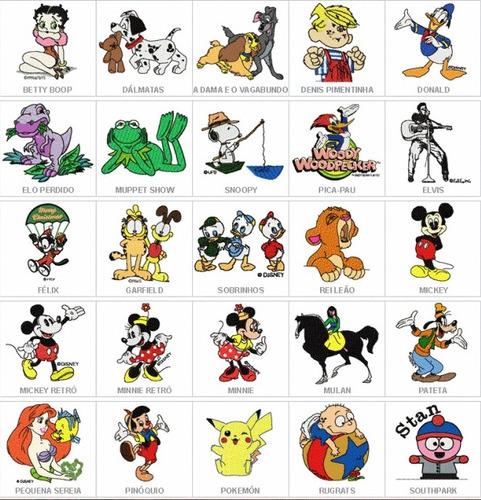 Diseños De Bordados Disney En El Formato Que Necesites. - $ 9.990 ...
