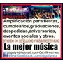 Dj Y Musica Para Fiesta Amplificacion Y Luces