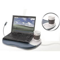 Mesa Notebook + Lampara Led Softcare