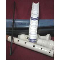 Flauta Yamaha Semi Nueva Con Manual Y Estuche Original