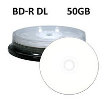 Pack 25 Discos Blu Ray Bd-r Dl 50gb Doble Capa Imprimible 6x