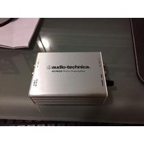 Preamplif. Audio Technica At-peq3 Phono Ecualizador 4hr Uso