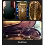 Guitarra Electrica Con Caja Blusera En Case