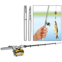 Lapiz Caña De Pescar Retractil Pen Fish Rod
