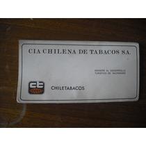 Antigua Publicidad Chiletabacos