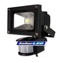 Foco Led 10 20 Y 30 Watts Con Sensor De Movimiento