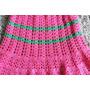 Falda Niñita Crochet 100% Algodón, Talla 5 Años