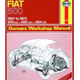 Manual De Taller Fiat 500 1957-1975