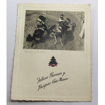 Foto Postal Rodeo Chileno Navidad Y Año Nuevo 1941