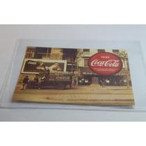 Coca Cola Tarjeta. Aguas Carbonatadas Reedicion Publicidad