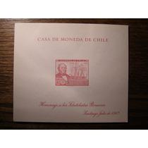 Block Souvenir Chile 1967