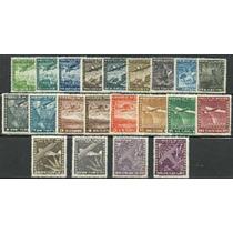 Ofertón # 010, Serie Aéreos Internacionales 1934-56 Mint **