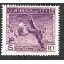 Estampilla Sello Pala Salitre 1536-1936 Chile