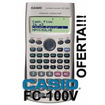 Calculadoras Casio Fc - 100v Financiera Nuevas Selladas