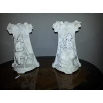 Par De Floreros En Porcelana