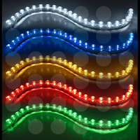 Tira De Led Flexible , Vehiculo, Tunnig, Ampolleta, Silicona