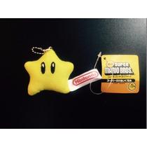 Llavero Estrella Mario Bros -- Nuevo Etiquetas