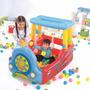 Juego Inflable Play Center Tren Con Pelotas