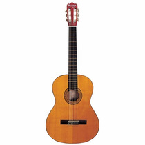 Guitarra Clásica Castilla Color Natural Con Funda Vizcaya