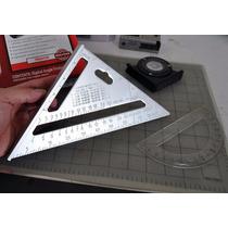 Escuadra Rápida - Aluminio Macizo - Carpintero - Carpintería