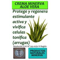 Crema Natural Aloe Vera Con Flores De Bach