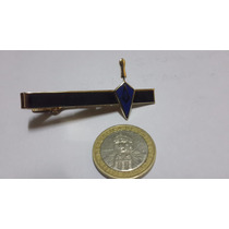 Sujeta Corbata Masonico Llana , Escuadra Y El Compas