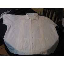Camisa Guayabera Montecarlo Talla 3xl Manga Corta Impecable