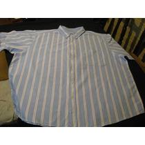 Camisa De Vestir Faded Glory Talla 3xl Manga Corta