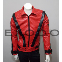 Chaqueta Eco-cuero ,thriller Michael Jackson , Exclusivo