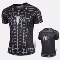 Polera De Hombre Spider Man Compresion De Alta Calidad