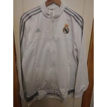 Poleron Adidas Anthem Real Madrid Talla L Producto Nuevo