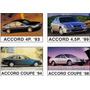 Libro Taller Honda Accord 2.2 1994-1997 En Español